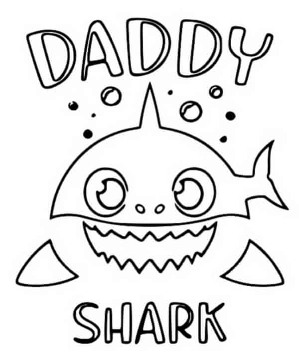 atividade baby shark gratis