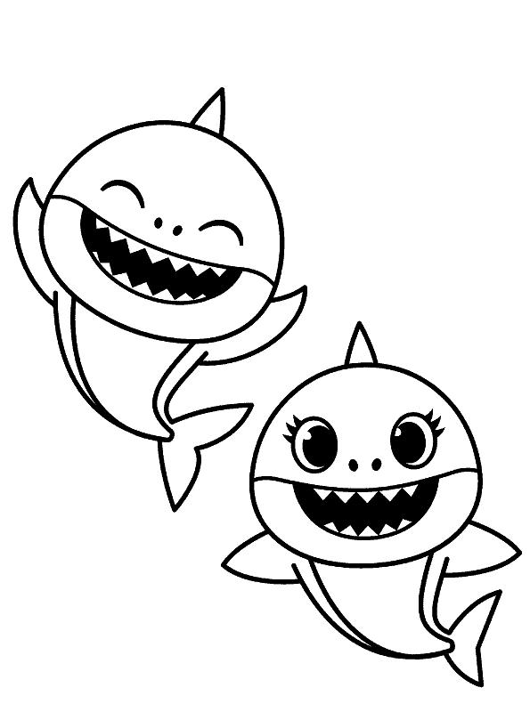atividade gratis baby shark