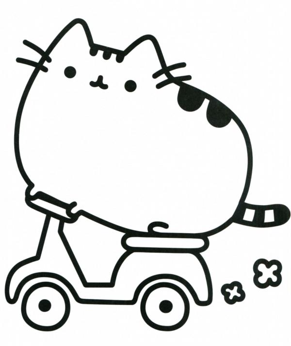 desenho do Pusheen