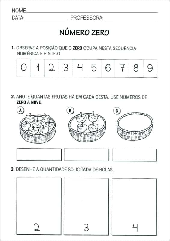 atividade de matematica com desenho para 1o ano