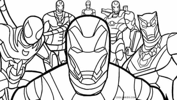 Avengers para colorir e imprimir