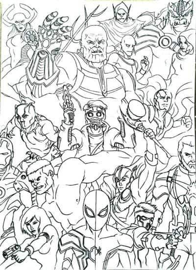 Vingadores Ultimato Poster