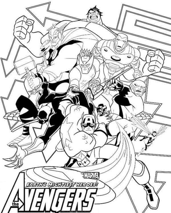Vingadores dos quadrinhos