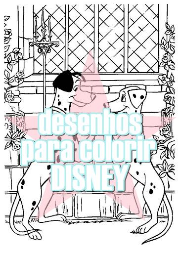 Capa do post Desenhos para Colorir Disney